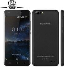 "Blackview A7 Android 7.0 3G смартфон двойной камеры заднего 5.0 ""mt6580a 4 ядра сотовые телефоны 1 ГБ + 8 ГБ двойной sim мобильный телефон"