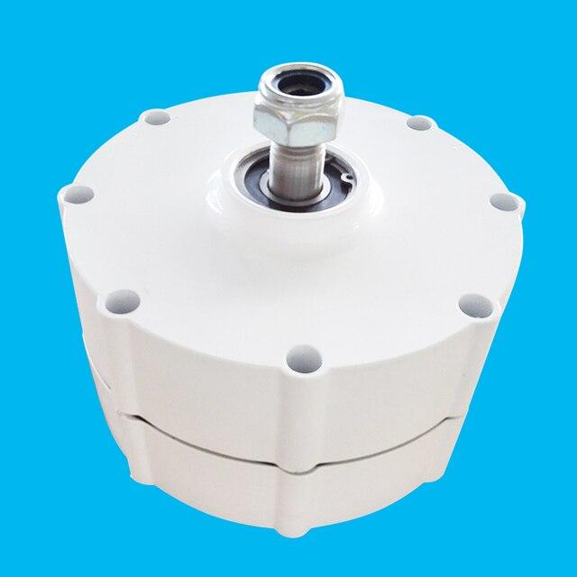 83bdd065642 AC12V 600 W Alternador Ímã Permanente de baixa Velocidade para a Turbina de  Vento Gerador de