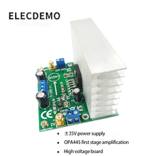 LM3886 module power amplifier board power amplifier audio amplifier OPA445 high voltage version Function demo board цены