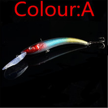 WDAIREN 1PCS 15.5cm 16.3g Wobbler Fishing Lure Big Crankbait Minnow Peche Bass Trolling Artificial Bait Pike Carp lures FA-311