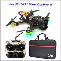 RTF RC самолет с at9s Радиолинк 2.4 г Дистанционное управление Средняя скорость мочеиспускания zmr 220 мм Drone с камерой Quadcopter