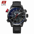 TTLIFE New Men Sports Watch Top Brand Luxury Fashion Watches Quartz Digital Display Clock Male Military Large Dial Wrist Watches