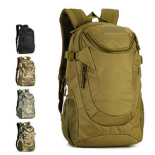 25L Outdoor Sport Tactical Military Double Shoulder Bag Rucksack Fishing Camping Hiking Travel Student Canvas Waterproof Bagpack