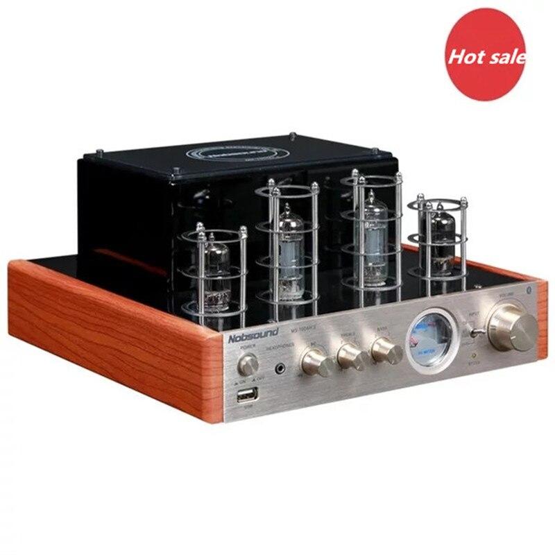 Nobsound ms-10d MKII HiFi 2.0 вакуумные трубки Усилители домашние Мощность Amp USB Bluetooth amplificador дома srereo аудио Усилители домашние 25 Вт * 2 220 В