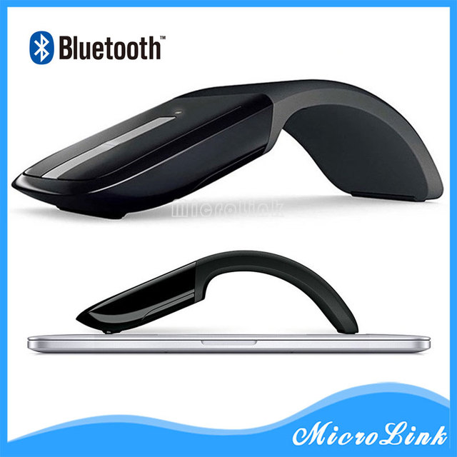 1d2f73e1eff Wireless Mouse For Microsoft Surface Arc Touch 3D Computer Mouse 2.4Ghz  Foldable Mouse For PC