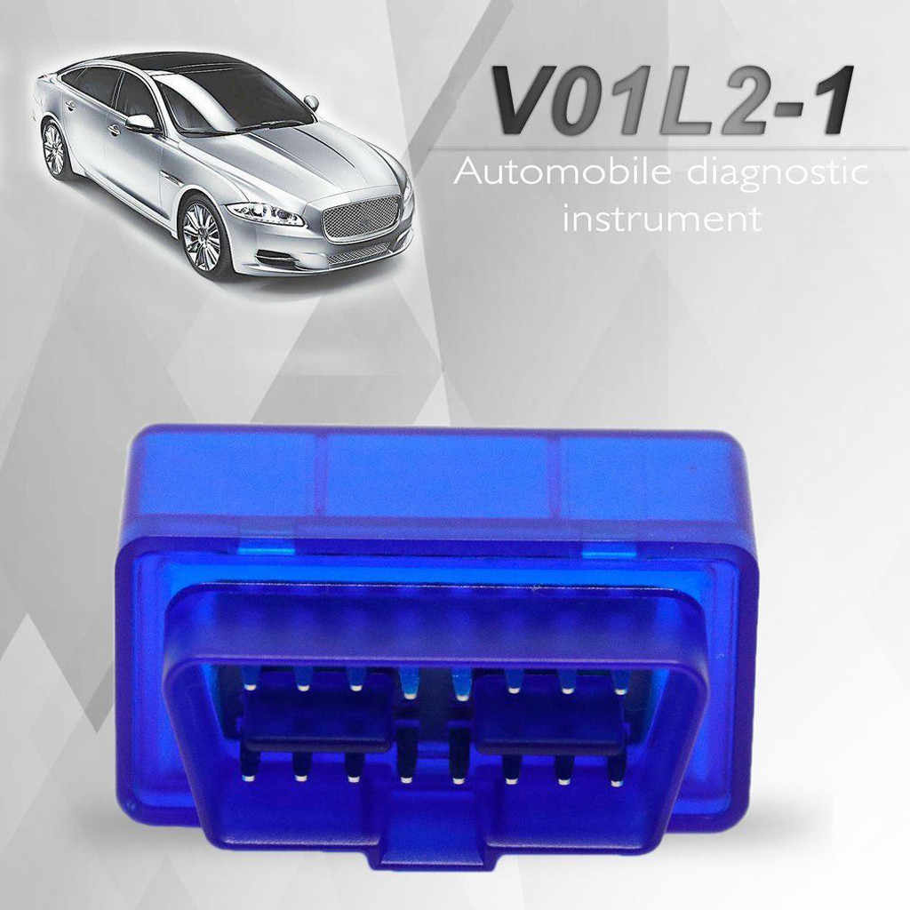 High Quality V01 V1.5 Nitro Obd2 Elm327 V2.1 BT 2.0 Car Auto Diagnostics Scanner Tool Drop Shipping
