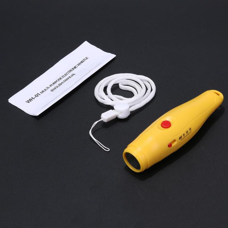Mini Portable Professional Electronic Referee Whistle Survival Plastic Camping Sports Electronic Outdoor Compass Whistle