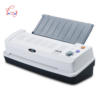 Electric Hot &Cold A3 Laminator Machine 330mm 4 Roller System photo laminating machine Office School and Household 1PC