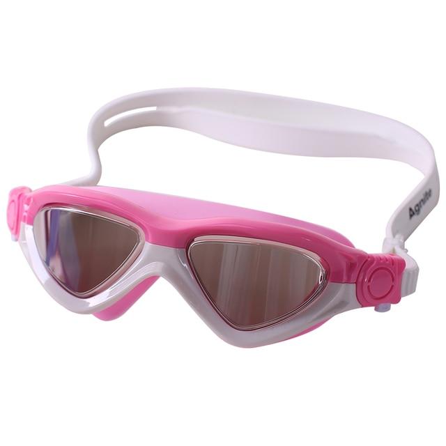 Agnite Kids Swimming Goggles HD Anti-fog Anti-ultraviolet Children Baby Girls boy Adjustable Sports Swim Eyewear