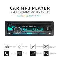Automobiles Autoradio Car Radio 12V Bluetooth Car Stereo In Dash 1 Din FM Aux Input Receiver
