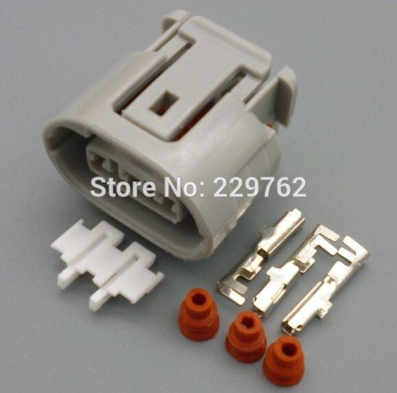 imágenes para 10 Conjuntos de 3 Pin conector eléctrico Del Coche enchufe ALTERNADOR PLOMO REPARACIÓN ajustes para mitsubishi ovalada arnés para toyota suzuki 3 way enchufe
