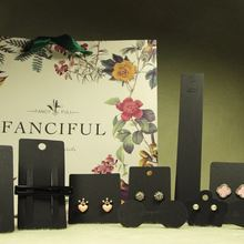 100 шт/лот модные ювелирные изделия из крафт бумаги ожерелье