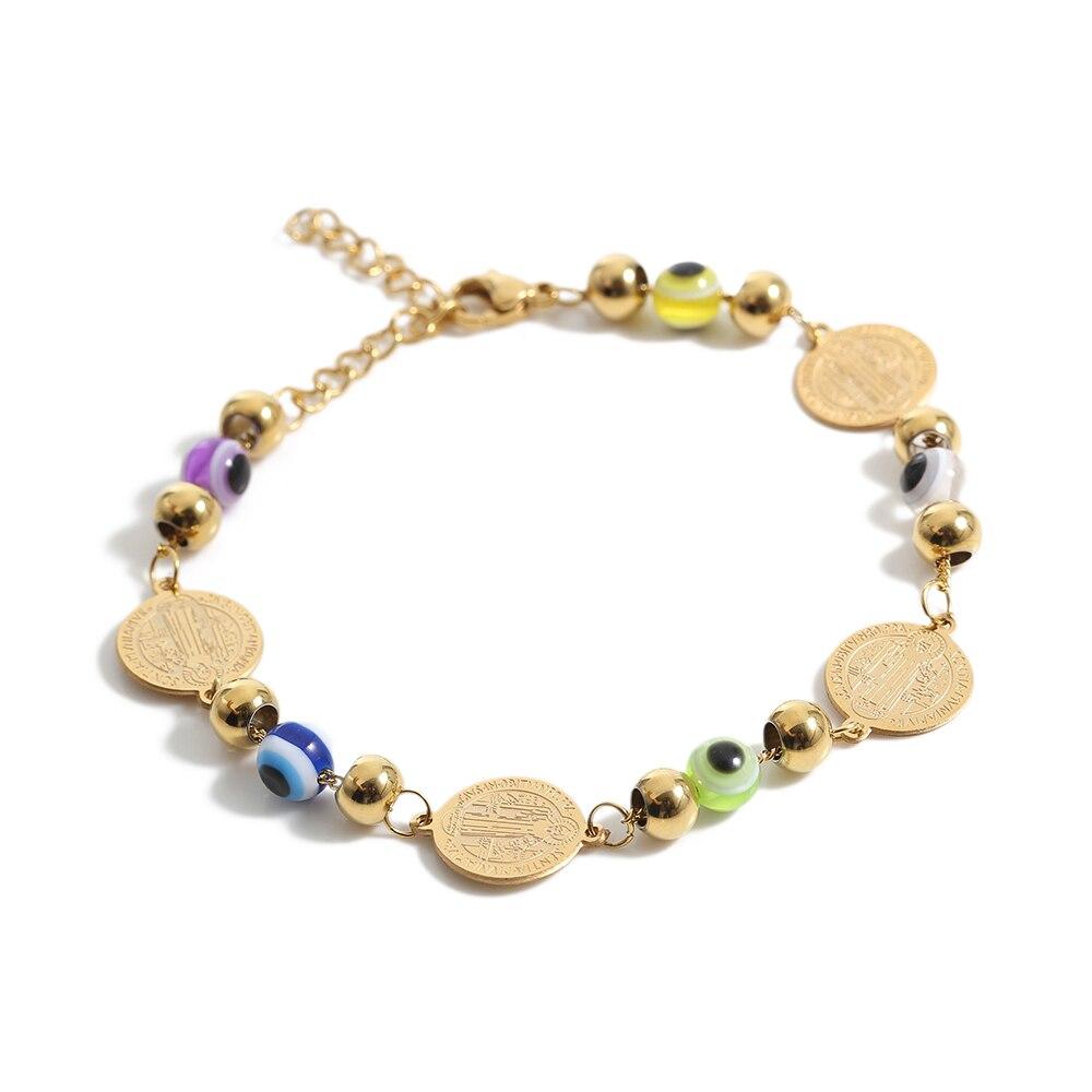 TL oro hecho a mano bola redonda pulsera de la vendimia tradicional Rosa brazalete mujeres Pulseras pulsera brazalete de novia de la boda Bangle Set
