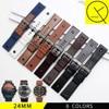 Genuine Leather WatchBand For Diesel DZ7257 DZ4318 DZ7313 Man Sport Watch Strap With Screw Stainless Steel