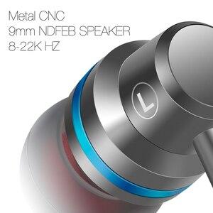 Image 5 - DUSZAKE écouteurs intra auriculaires pour Xiaomi écouteur pour téléphone stéréo basse casque métal filaire écouteur HiFi casque micro pour Samsung