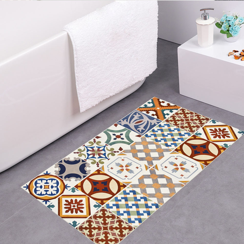 Funlife Turkish Ceramic Tiles Removable Waterproof Seamless Anti ...