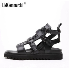 summer sandals Sneakers Men Slippers Flip Flops Summer Shoes Male new men Genuine Leather leather cowhide