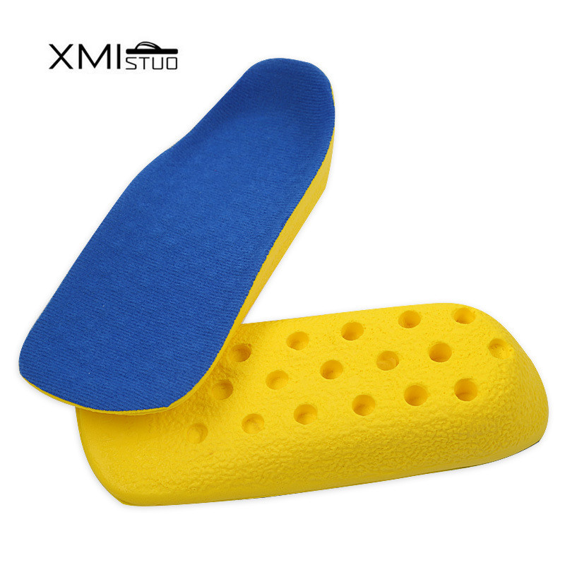 Men and Women Secret Height Increase 2.5cm Heel Lift half Insoles In Sock invisible Pad Soft and flexible Shoe Insert