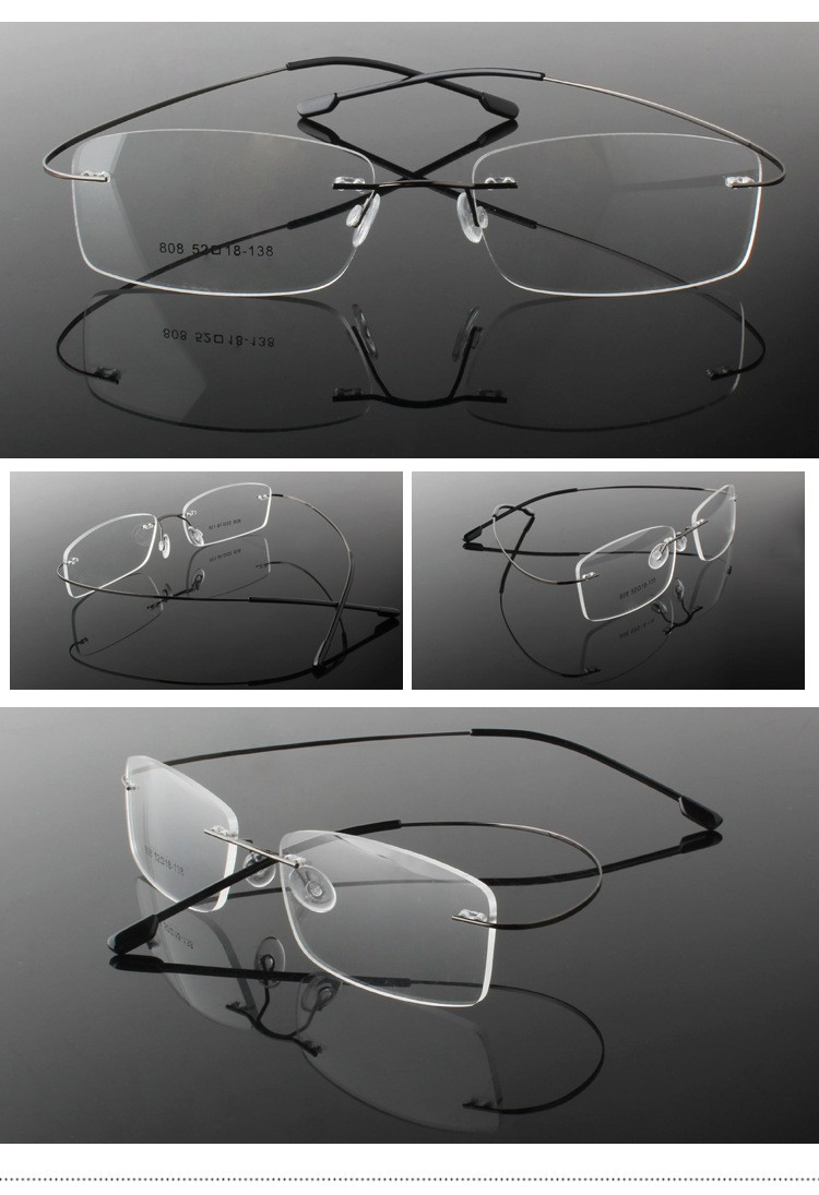 rimless optical glasses (20)
