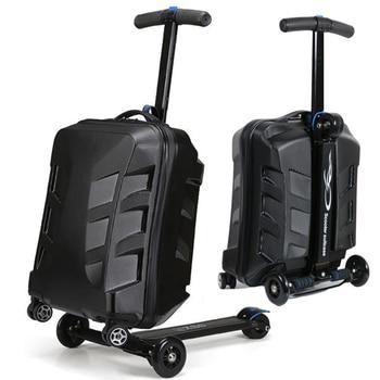 Aluminum Lock Scooter Suitcase