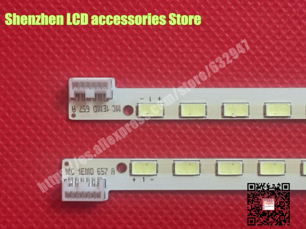 2piece/lot FOR LG LC320EUN SD F1 Back Light 3660L-0373A 1piece=40LED 404MM  (Left And Right)