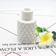 Hand Making aromatherapy gypsum 3d vase clay molds hand made craft silicone
