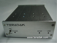 Новый TeraDak V2.7D ЦАП TDA1543 NOS ЦАП 26D 96 К/24bit коаксиальный/оптический вход USB DAC 110 В/230 В
