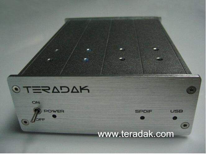 NEW TeraDak V2.7D DAC TDA1543 NOS DAC 26D 96k/24bit COAXIAL /OPTICAL input  USB DAC 110V/230V yao ott instrument tda thermostat tda 8001 pointer thermostat tda 8001 k 0 400