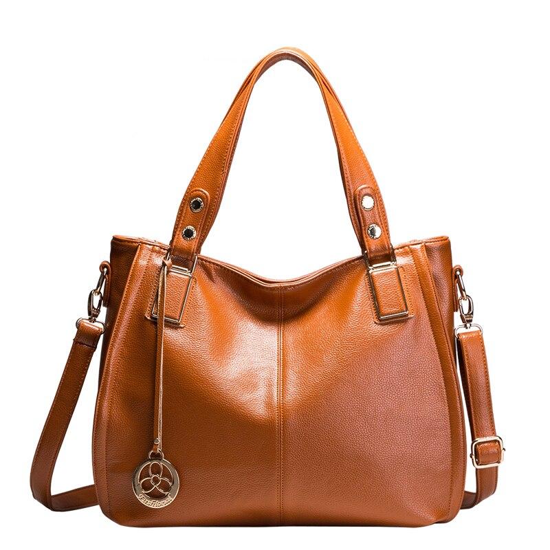 Jenama Terkenal Designer Handbags Berkualiti Tinggi Asli Kulit Wanita - Beg tangan - Foto 2