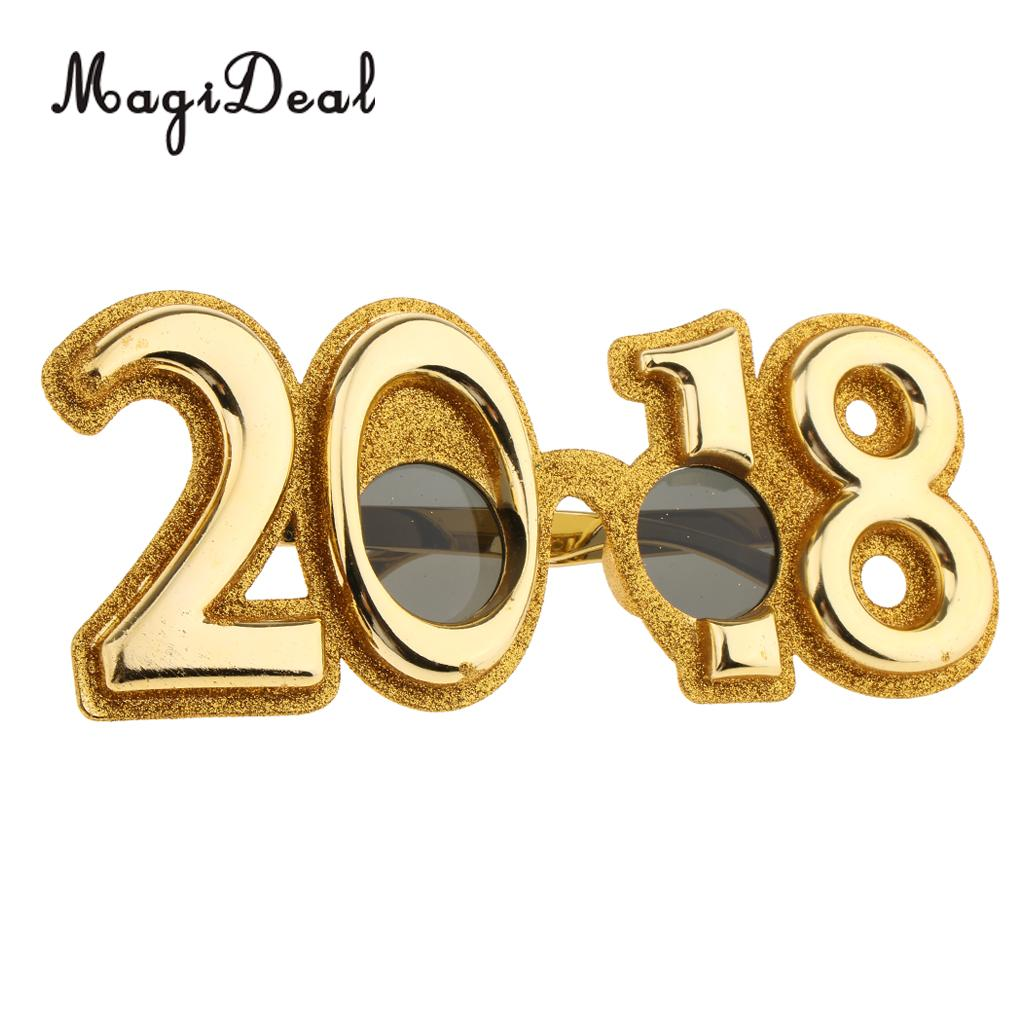 55b66797d7f Glitter 2018 Eyeglasses Party Glasses New Years Eve Party Christmas  Festival Holiday Party Fancy Dress Photo Props-in Party Favors from Home    Garden on ...