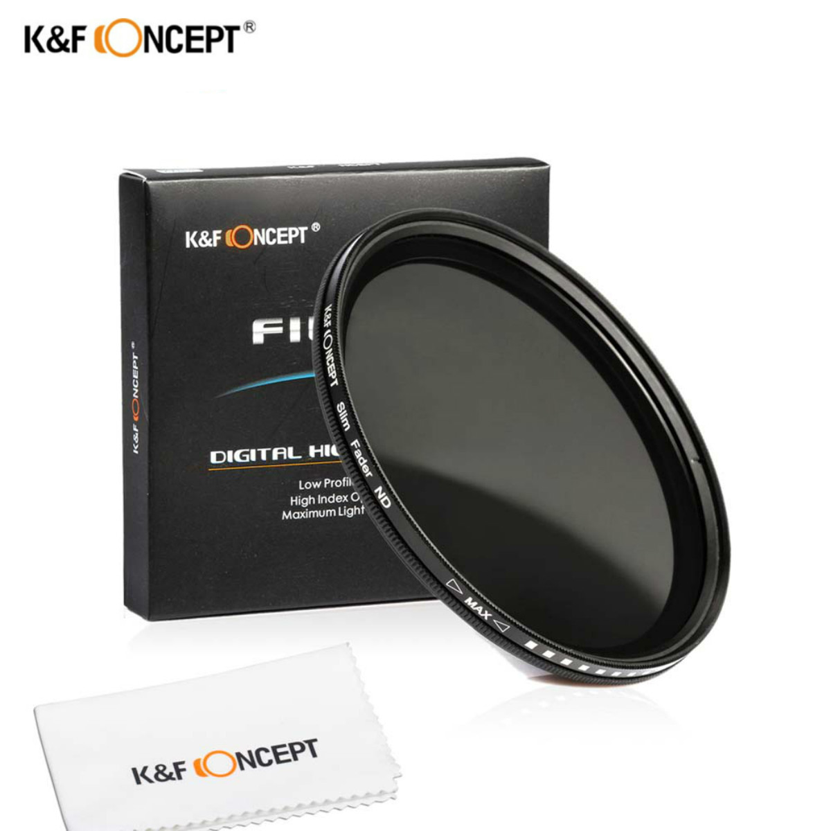46mm Slim Fader Variable ND2 à ND400 Densité Neutre Réglable ND Lentille Filtre Pour Canon Nikon Sony Olympus
