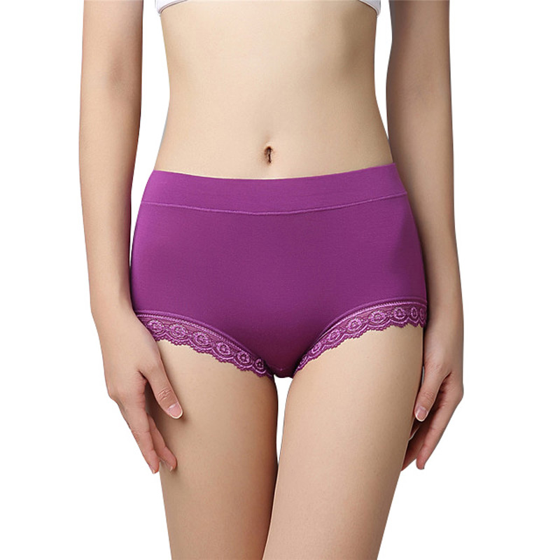 Woman Antibiotic Briefs Plus Size Seamless Shorts Panties Calcinhas Bragas Mid High Waist Female Lingerie Intimates Underwear