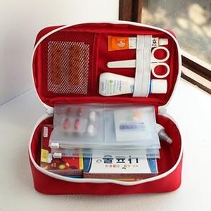 Image 5 - แบบพกพา Plus ขนาดกันน้ำ First Aid Bag Camping กระเป๋าบ้านกรณีฉุกเฉินทางการแพทย์ทางการแพทย์แพคเกจ