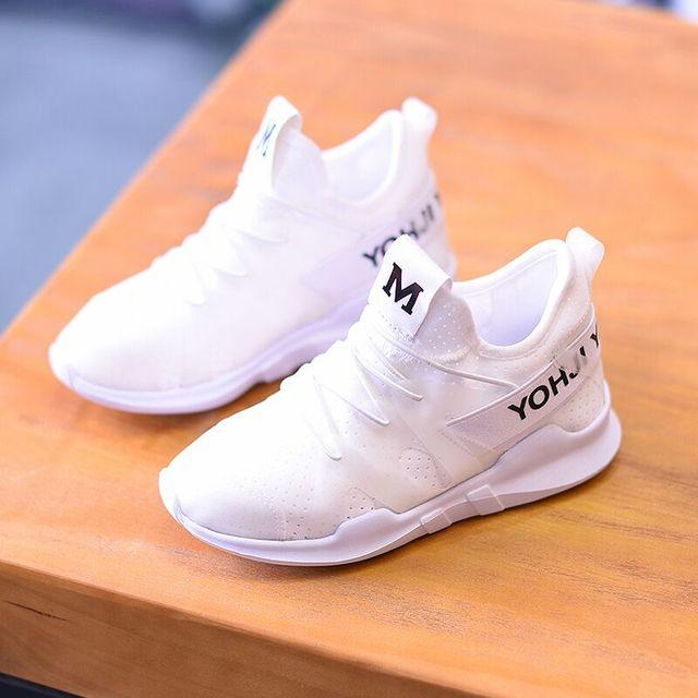 4995df3abedde Novas Crianças sapatos macios meninos tênis da moda das meninas do esporte  running shoes crianças respirável