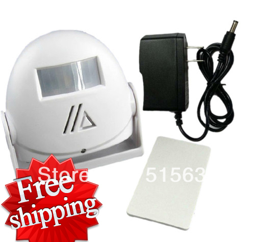 Wireless Visitor Customer Ding-dong Door Chime Entry Alert Entrance Alarm With Power Charger