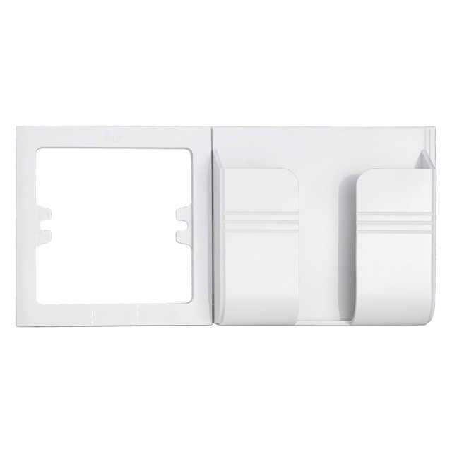 Minitiger 벽 소켓 전화 홀더 스마트 폰 액세서리 스탠드 지원 휴대 전화 애플 삼성 화웨이 전화 홀더