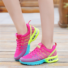 Купить с кэшбэком Big Size 42 Air Breathable Women Running Shoes Zapatos Mujer Outdoor Sneakers Female Sports Shoes Women Girls Walking Shoes Run