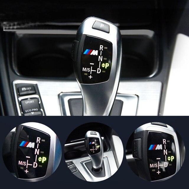 Автомобиль М Мощность Логотип Передач Рукоятка Рычага Переключения Передач Панели Обшивка Багажника На BMW X5 E36 F30 F20 E39 E60 E53 E46 E90 325i 328 M3 M5 GT 1 3 5 6 7 Серии