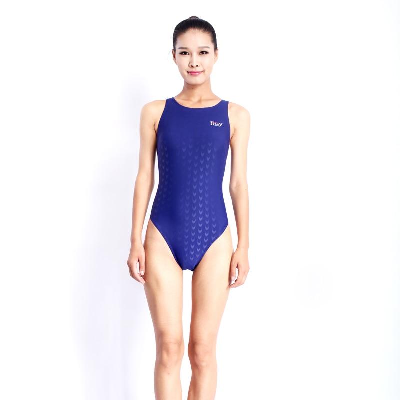 Swimsuit Swimwear Women One Piece Suits Arena Swim Suit One Piece Swimsuit Professional Swimsuits Plus Size Girls Racing Badpak(China)