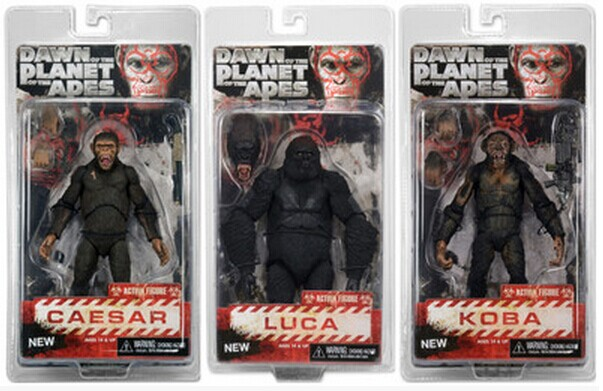 NEW hot 23cm Rise of the Planet of the Apes Caesar Koba collectors action figure toys Christmas gift doll with box