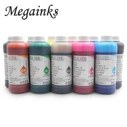 500 ML/butelka wodoodporna atrament pigmentowy do DX2 DX4 DX5 DX6 DX7 głowicy drukującej związanych z dużym formacie drukarki atramentowe czarny MBK zestawy