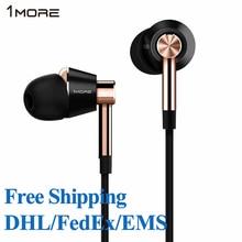 1 MÁS E1001 Triple Driver IEM En La Oreja Los Auriculares Micrófono En Línea y Remoto para IOS iPhone Xiaomi Envío Libre DHL/EMS/FedEx