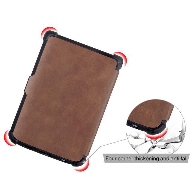 Smart case for Pocketbook 616/627/632 6'' Book case for PocketbooBasic lux2 book /touch/lux4 touch hd 3 cover Case+Gifts 2