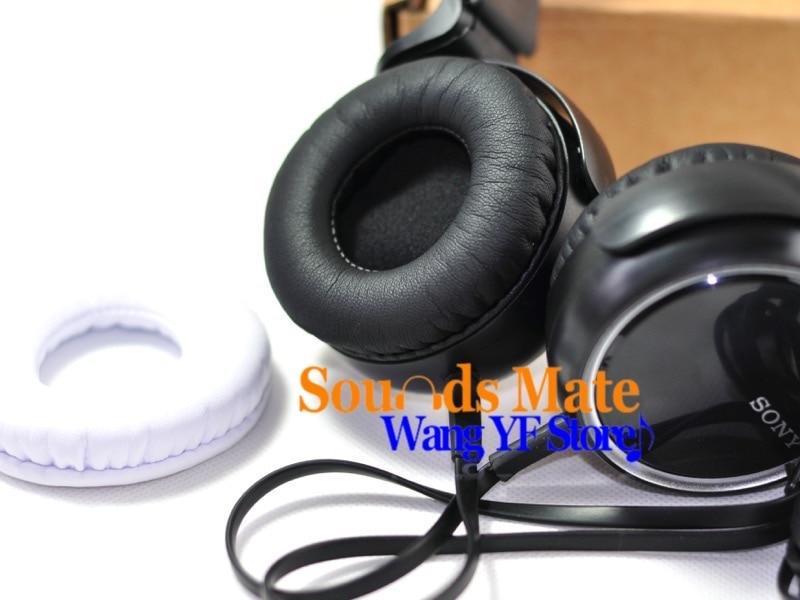 bilder für Diy weichen ersatz kissen ohr pad für sony mdr xb400 xb 400 kopfhörer headset schwarz oder weiß