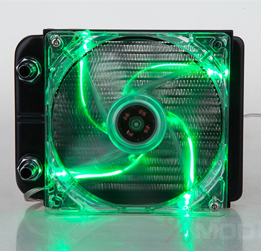 120mm Aluminum radiator Computer water cooling cooler heat exchanger fin intensive with LED Fans