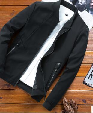 Autunno inverno giacca giacca casual da uomo versione Coreana di grandi dimensioni grasso ragazzo uniforme da baseball yf194