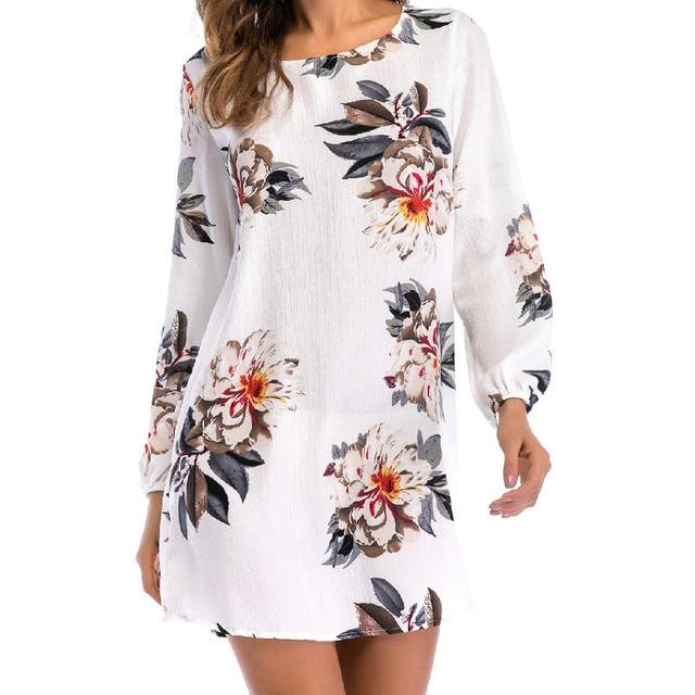 Long Sleeves Summer Dresses