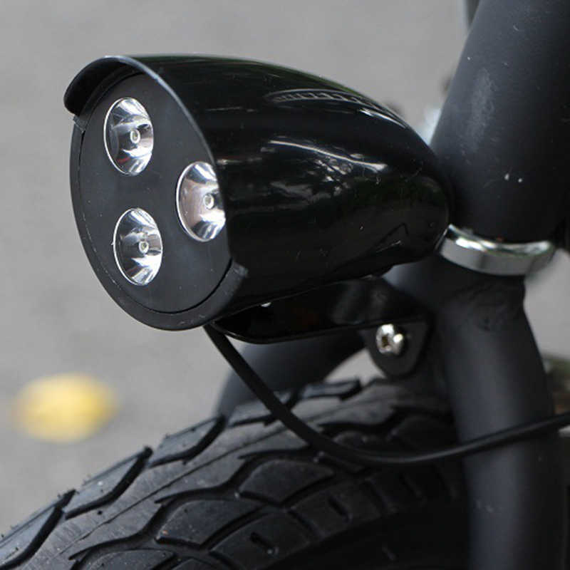 36V/48V Electric Bike Bicycle Tricycle Ebike Electric Scooter Skateboard Led Light E Bike Front Light 0Headlight Include Horn