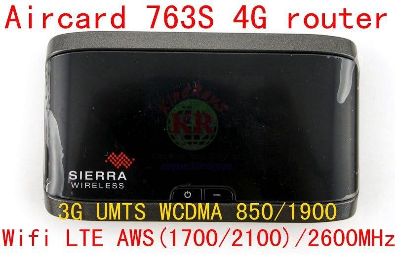 Débloqué Sierra Aircard 763 S lte 4g mifi dongle routeur sans fil Hotspot Mobile 4G LTE poche wifi pk 754 s 760 s 762 s y800 y855