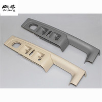 Free shipping 1pc for SKODA Superb car stickers of door armrests Window lift control panel modification car styling